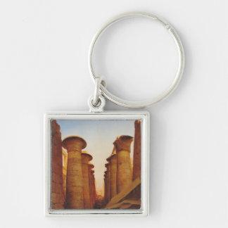 KarnakのAmunの素晴らしい寺院 キーホルダー