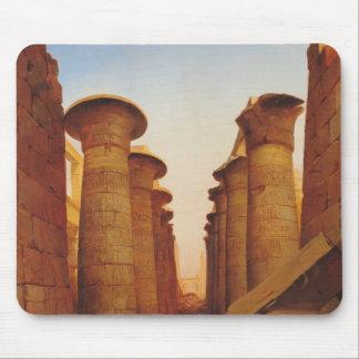 KarnakのAmunの素晴らしい寺院 マウスパッド