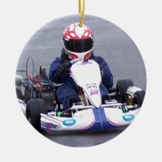 Kartのレーサー セラミックオーナメント