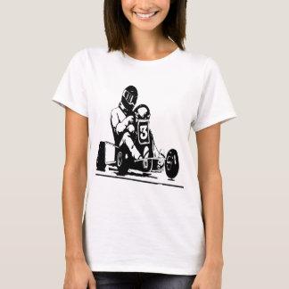Kartの競争は行きます Tシャツ