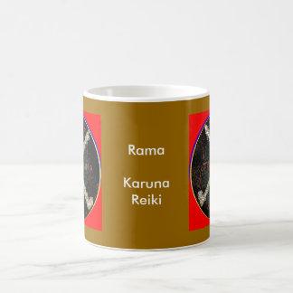 Karunaの霊気の記号- RAMA コーヒーマグカップ