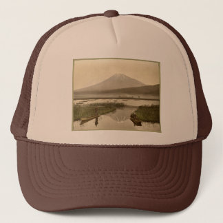 Kashiwabaraのヴィンテージの写真からのMt富士 キャップ