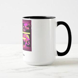 KasperArtのスタジオによるマドンナの抽象的なマグ マグカップ