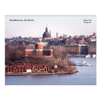 Kastellholmen、ストックホルムの写真O… ポストカード