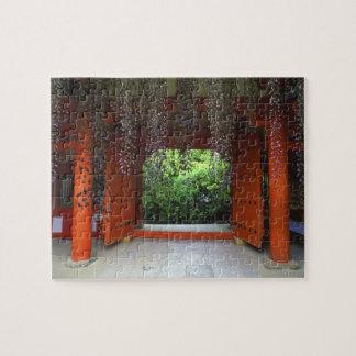 Kasugaの神社、奈良、日本 ジグソーパズル