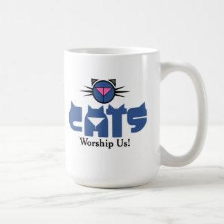Kat Krazyの崇拝 コーヒーマグカップ