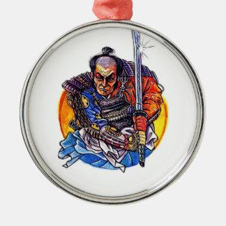 Katanaクールな漫画の入れ墨の記号の日本の武士 メタルオーナメント