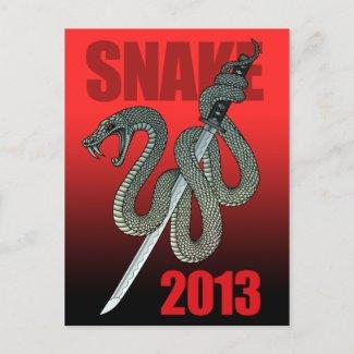 Katana snake 2013 A はがき