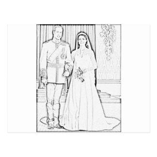 kateの結婚式 ポストカード