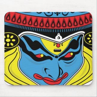 Kathakのカラフルなベクトル芸術のマウスパッド マウスパッド