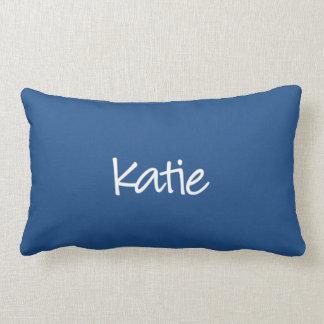 Katieの枕-モダンな原稿 ランバークッション