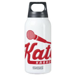 Katoのカラオケのロゴ 断熱ウォーターボトル