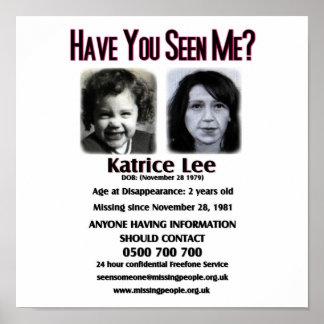 Katriceリーポスター私に会ってもらいます ポスター