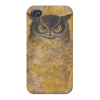 Katsuda Yukioのフクロウの日本の東洋の芸術 iPhone 4/4Sケース