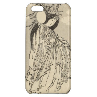 Katsushika Hokusaiの女神Konohana Sakuya Hime iPhone5Cケース