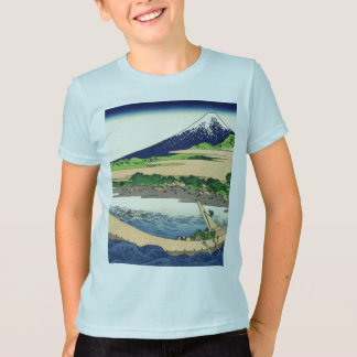 Katsushika Hokusai著Ejiri Tokaidoの近くのTago湾 Tシャツ