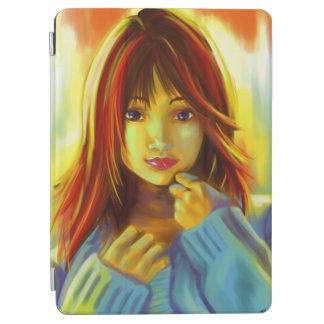 Kawai日本の女の子カバー iPad Air カバー