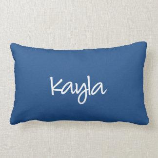 Kaylaの枕-モダンな原稿 ランバークッション