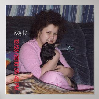 Kayla及びソエ ポスター