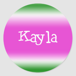Kayla ラウンドシール