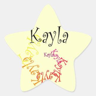 Kayla 星シール