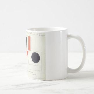 Kazimir Malevich著人権擁護者のスピーカー コーヒーマグカップ