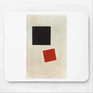 Kazimir Malevich著黒い正方形そして赤の広場 マウスパッド