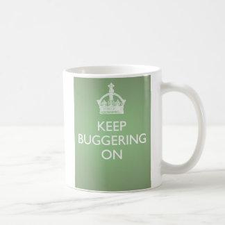 KBOのマグ-きゅうりの緑 コーヒーマグカップ