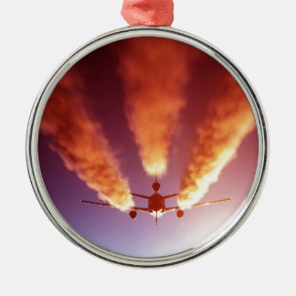 KC-10給油の航空機 メタルオーナメント