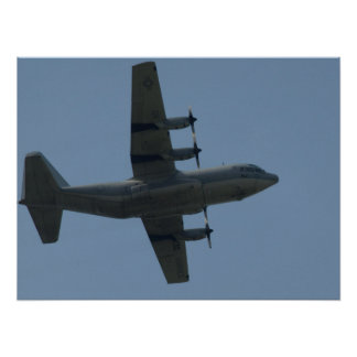 "KC-130ヘラクレス""Ernie""。 ポスター"