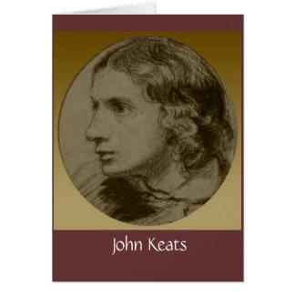 Keats、ロマンチックな詩人 カード