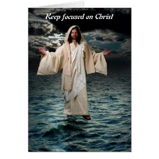 keepキリストに焦点を合わせました カード
