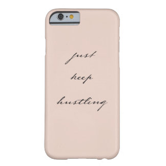 keep強いるiphoneの場合 barely there iPhone 6 ケース