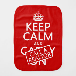 Keep Calm and Call A Realtor バープクロス