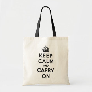 Keep Calm and Carry Onのバッグ トートバッグ