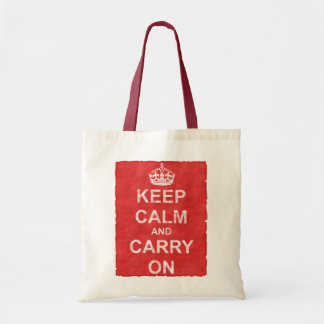 Keep Calm and Carry Onのヴィンテージ トートバッグ