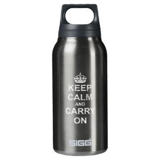 Keep Calm and Carry Onのヴィンテージ 断熱ウォーターボトル