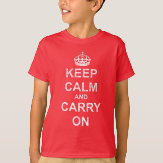 Keep Calm and Carry Onのヴィンテージ Tシャツ