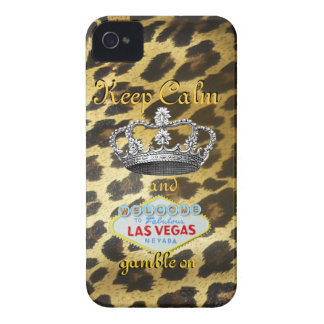 Keep Calm and Carry Onラスベガス Case-Mate iPhone 4 ケース