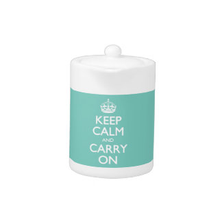 Keep Calm and Carry On -オウムのミント。 白い文字