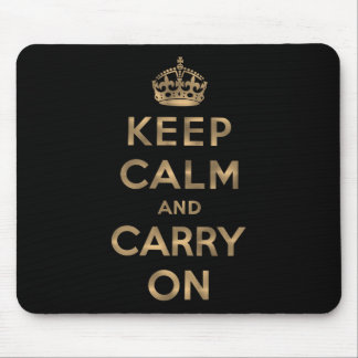 Keep Calm and Carry On マウスパッド