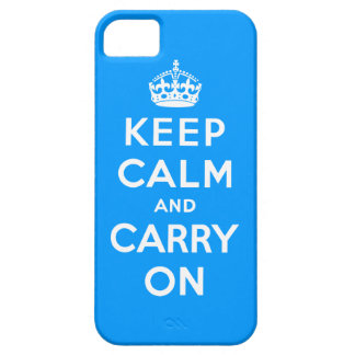 Keep Calm and Carry On iPhone SE/5/5s ケース