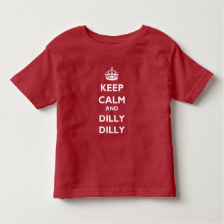 Keep Calm and Dilly Dilly Toddler Jersey T-Shirt トドラーTシャツ