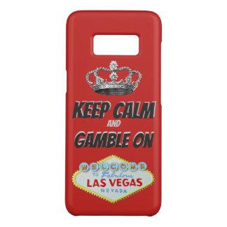 Keep Calm Las Vegas Good Luck Case-Mate Samsung Galaxy S8ケース