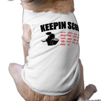 Keepinのスコア 犬用袖なしタンクトップ