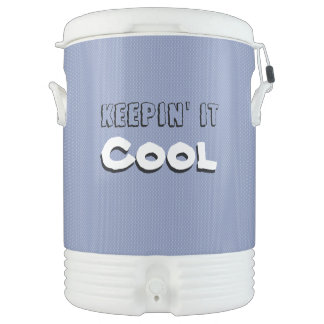 Keepin' it Cool Ice Drink Camping Dispenser/Cooler ドリンククーラー