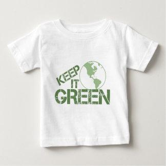 keepitgreen ベビーTシャツ