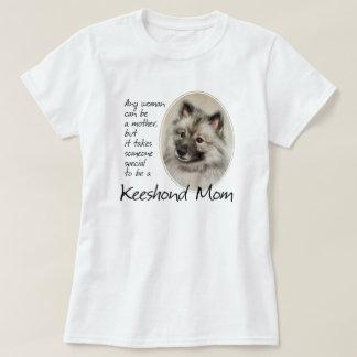 Keeshondのお母さんのワイシャツ Tシャツ