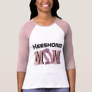 Keeshondのお母さん Tシャツ