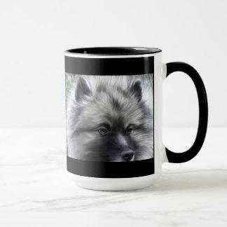 Keeshondのコーヒーカップ マグカップ